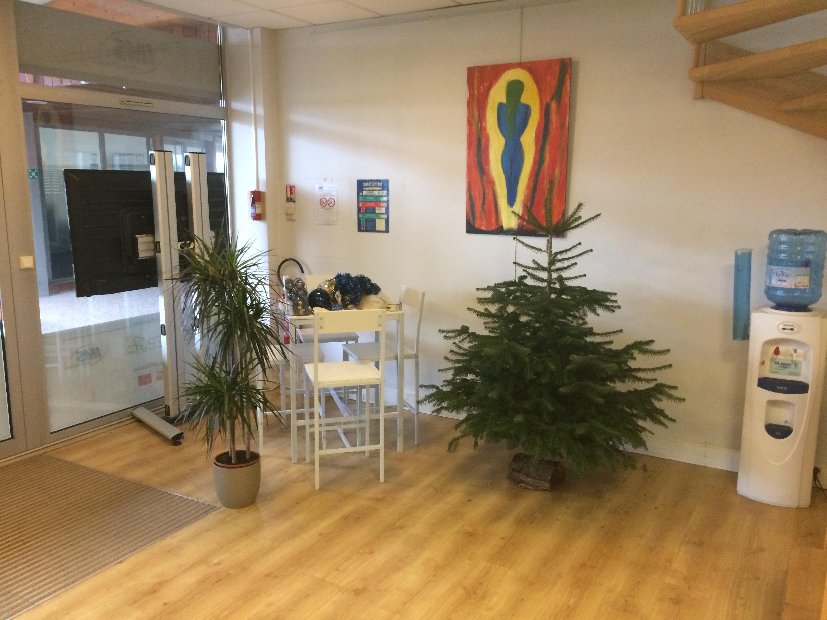 Noël se prépare chez IMS à Lutterbach