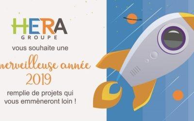IMS Partners et HERA Groupe vous souhaitent une merveilleuse année 2019