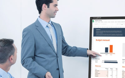 L'écran interactif, votre allié pour des visioconférences réussies
