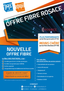 Brochure fibre rosace